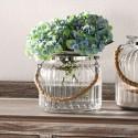 """Декоративная ваза """"Элегант"""" малая, стекло, В 15 см"""