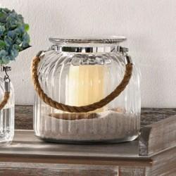 """Декоративная ваза """"Элегант"""" большая, стекло, В 17 см"""