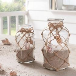 """Декоративные вазы """"Морской стиль"""", 2 штуки"""