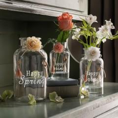"""Вазы """"Счастливая весна"""", стекло, 3 штуки"""