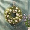 """Декоративный венок """"Зелень травы"""", диаметр 34 см"""