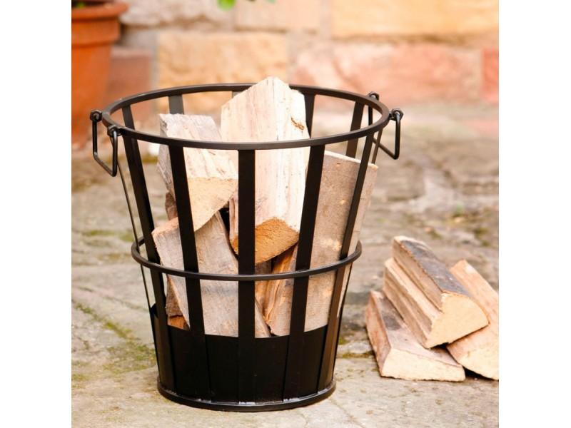 Корзина для дров металлическая