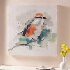 """Картина """"Птица"""" холст, масло, 60х60 см"""