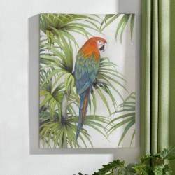 "Картина ""Попугай"" холст, 50х70 см"