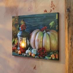 """Картина """"Осенний натюрморт"""" со светодиодами, 30х40 см"""