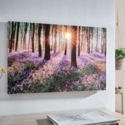 "Картина ""Лес"", с подсветкой, 60х40 см"