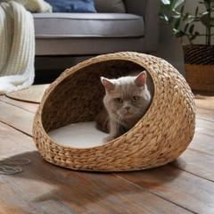 """Домик для кошки """"Уютное гнездышко"""", водный гиацинт"""
