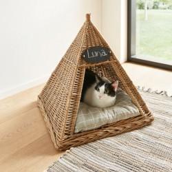 """Домик для кошки """"Вигвам"""" 50х50х53 см"""