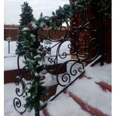 """Декоративная гирлянда """"Новогодняя"""" с натуральными шишками, Д 270 см"""