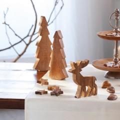 """Декоративные фигурки """"Лес"""" дерево, 3 шт."""