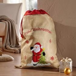 "Мешок для подарков ""Счастливого Рождества"" 50х70 см"