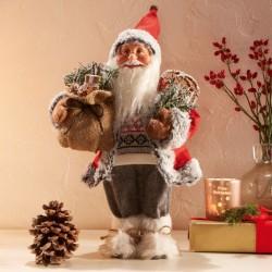 "Декоративная фигура ""Санта в унтах"" высота 42 см"