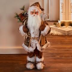 """Декоративная фигура """"Санта Клаус"""" высота 46 см"""