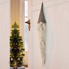 """Декоративный подвес """"Бородатый гном"""" высота 100 см"""