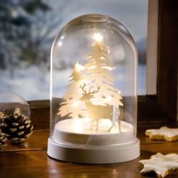 """Световой декор """"Купол зимний лес"""" со светодиодами"""