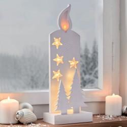 """Светильник """"Свеча"""" со светодиодами, высота 36 см"""