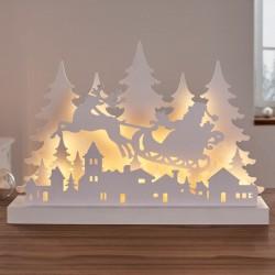 "Светильник ""Рождество"" со светодиодами, 43х8х29 см"