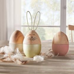 """Декоративные фигуры """"Пасхальные яйца"""", 3 штуки"""