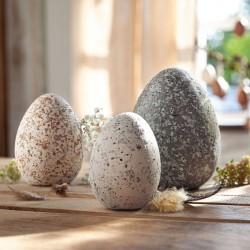 """Декоративные фигуры """"Комплект яиц гранит"""" 3 штуки"""