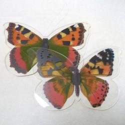 """Декоративные подвесы """"Яркие бабочки"""" пластик, 2 шт."""