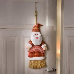 """Декоративный подвес """"Новогодняя метла"""" высота 60 см"""