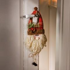 """Подвес """"Санта на дверь"""" высота 35 см"""
