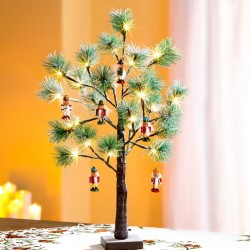 """Декоративные подвески """"Щелкунчик"""" дерево, 6 штук"""