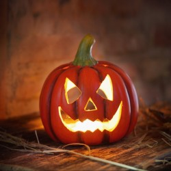 """Подсвечник """"Хэллоуин"""" 21х19х22 см"""