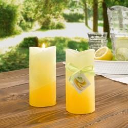 """Свечи ароматические """"Лимон"""" воск, 2 штуки"""
