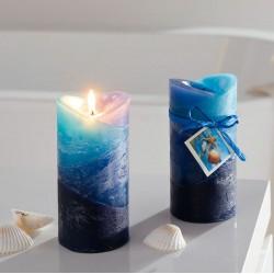 """Свечи """"Океан"""" ароматические, воск, 2 штуки"""