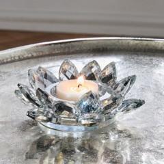 "Подсвечник ""Кристалл"" стекло, диаметр 13 см"