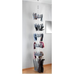 """Этажерка для обуви """"Ахиллес"""" металл, высота регулируется от 250 до 310 см"""