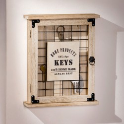 """Ключница """"Ключи"""" дерево, 23х6х28 см"""