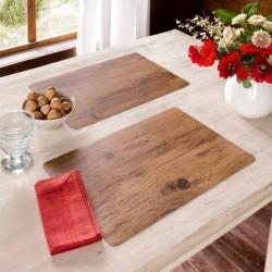 """Подложки на стол """"Дерево"""" 30х45 см, 2 штуки"""