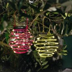 """Садовый декор """"Спирали"""" со светодиодами, 2 шт."""