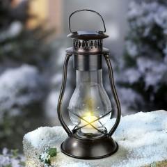 """Садовый фонарь """"Светлячок"""" на солнечной батарее, с держателем, металл, В 41 см"""