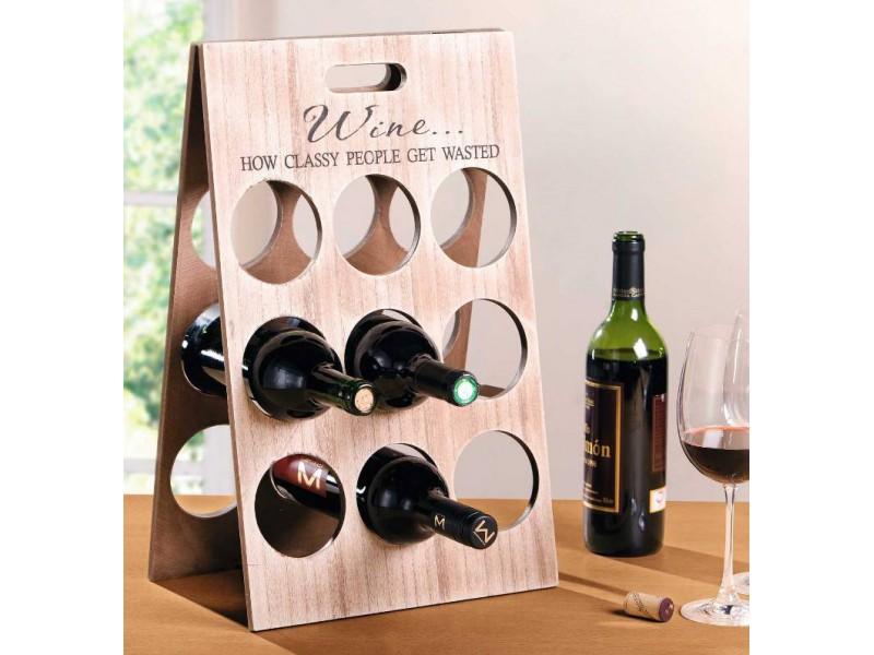 Подставки под бутылки с вином своими руками