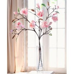 """Декоративное растение """"Магнолия"""" 2 ветви, В 82 см"""