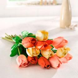 """Декоративные цветы """"Тюльпаны"""" 3 штуки, В 62 см"""