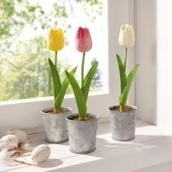 """Декоративные растения """"Тюльпаны"""" 3 шт."""