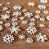 """Комплект для декорирования """"Снежинки"""" дерево, 48 штук"""