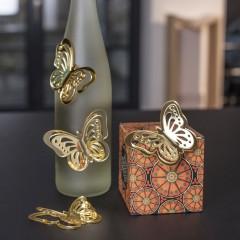 """Декор """"Бабочки"""" акрил, 4 штуки"""