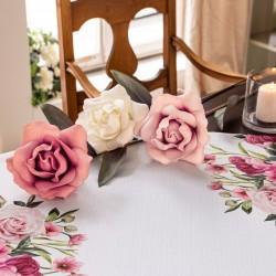 """Декоративные цветы """"Розы"""", три штуки"""