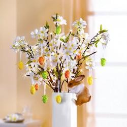 """Декоративная ветвь """"Яблоневый цвет"""" с подсветкой, высота 80 см"""