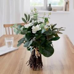 """Декоративные цветы """"Букет из белых цветов"""", высота 44 см"""