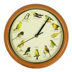 """Часы настенные """"Пение птиц"""" Д 24,5 см"""