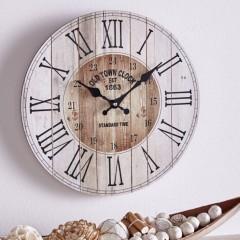 """Часы """"Кантри"""" настенные, дерево, Д 34 см"""