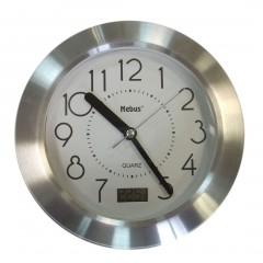 "Часы для ванной комнаты ""Кварц"" на присосках, Д 17 см"