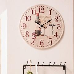 """Часы """"Бистро"""" настенные, металл, диаметр 40 см"""