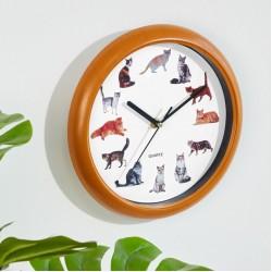 """Часы настенные """"Мяу"""", диаметр 25 см"""
